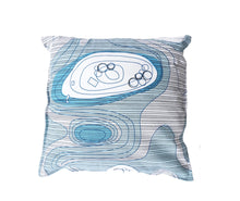 Born in Sweden Pillowcase Sweden from above Archipilago