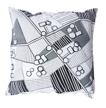 Born in Sweden Pillowcase Sweden from above Countryside