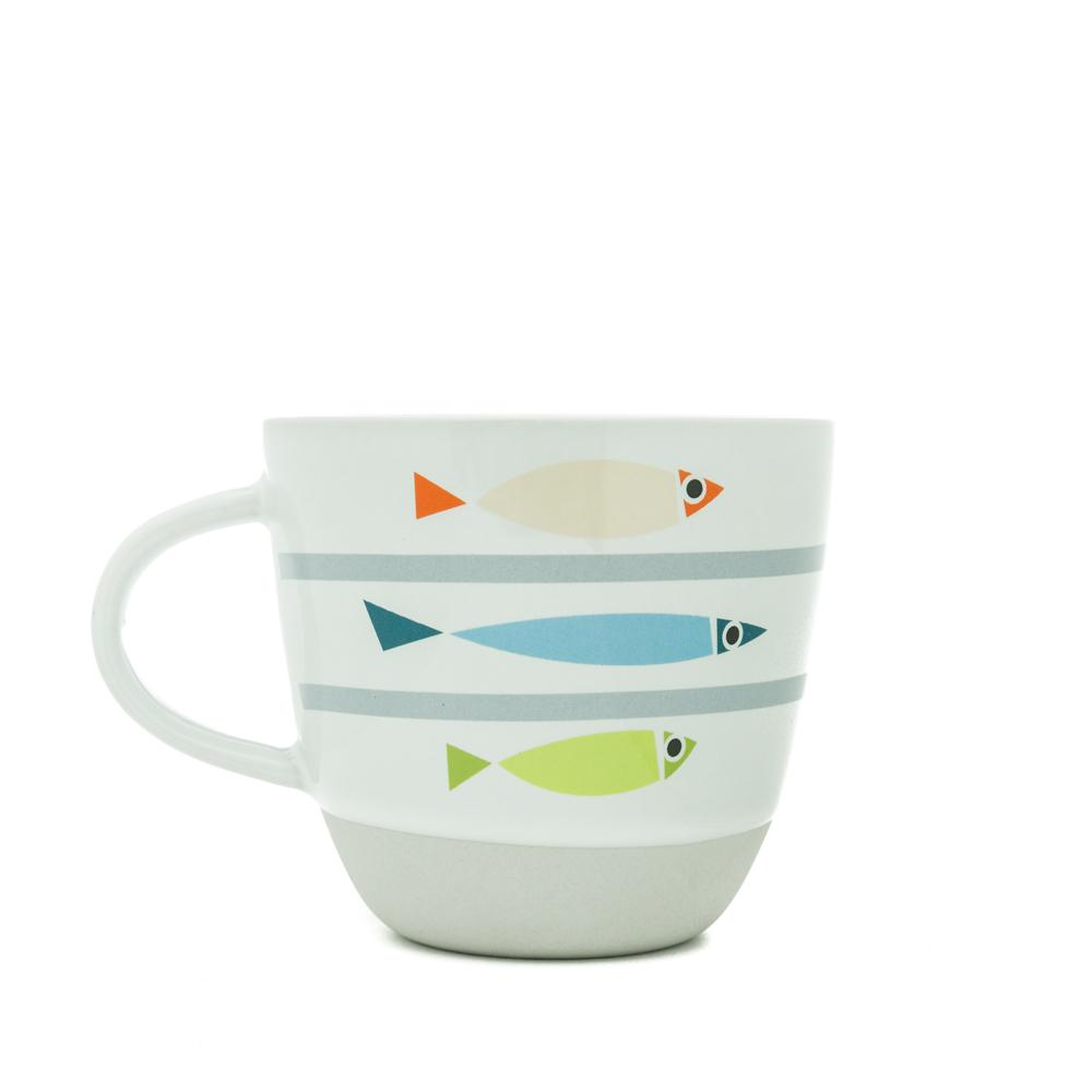 Fishy Line Up Bert & Buoy Mug