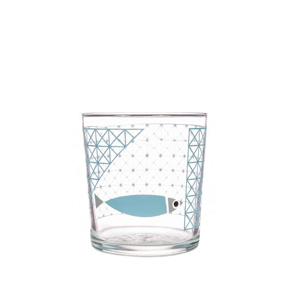 Bert & Buoy Glass Tumbler Fishy Escape