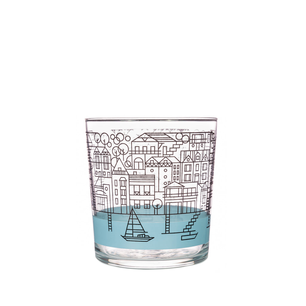 Bert & Buoy Glass Tumbler Dartmouth