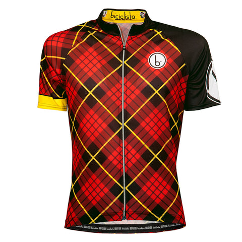 SWEET RED PLAID Ride Jersey
