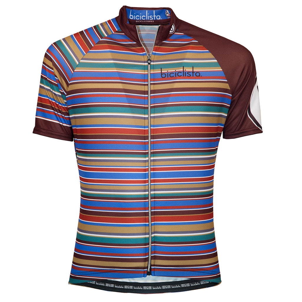 Biciclista Striped Ride Jersey