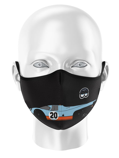 LES MANS DUAL PROTECTION MASK