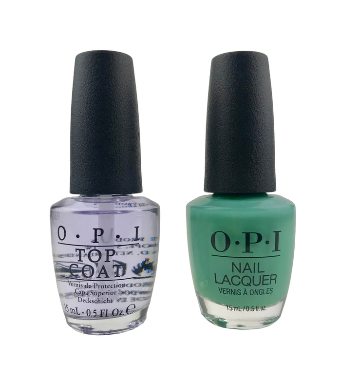 OPI Nail Top Coat and My Dogsled Is a Hybrid Combo Full Size