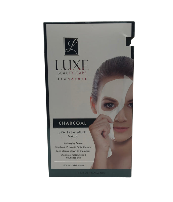 Luxe Beauty Care Signature Charcoal Spa Treatment Mask