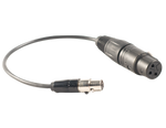 Cable Adapter (TA4F to XLR), 6000-XLR