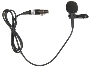 Lapel Mic with TA4F plug, LM-60