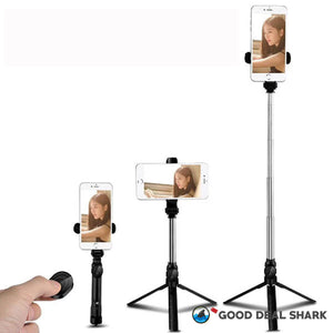 Wireless Bluetooth Tripod & Selfie Stick