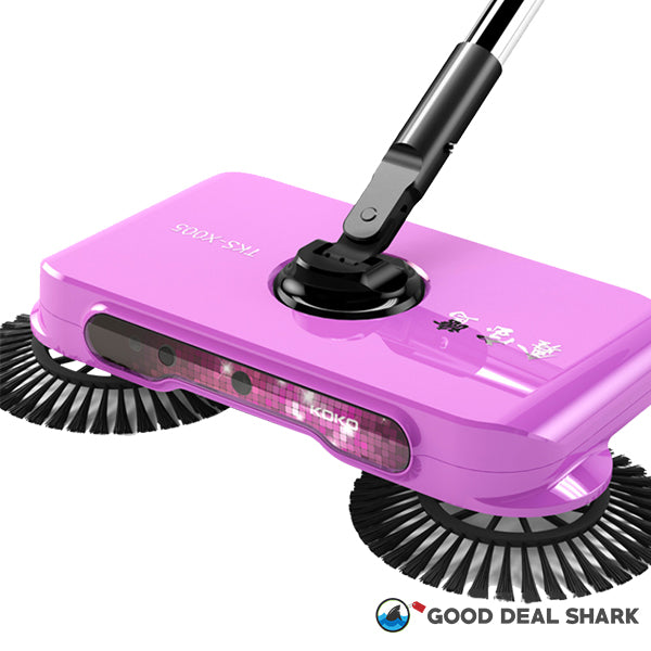 Wireless Auto Spin Light Broom