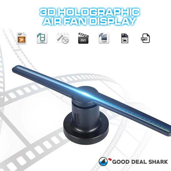 3D Holographic Air Fan
