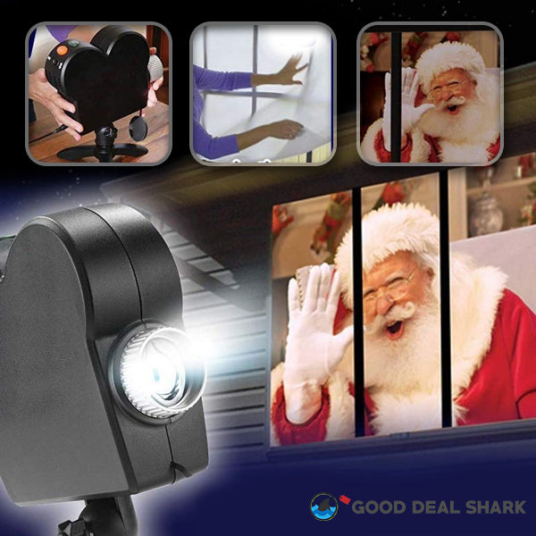 Christmas Display Window Projector System