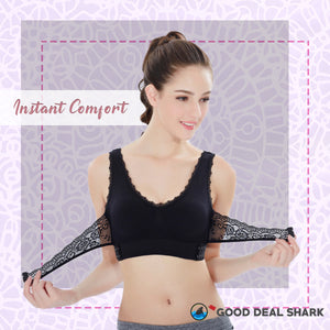 Cross Support Wire-Free Bra