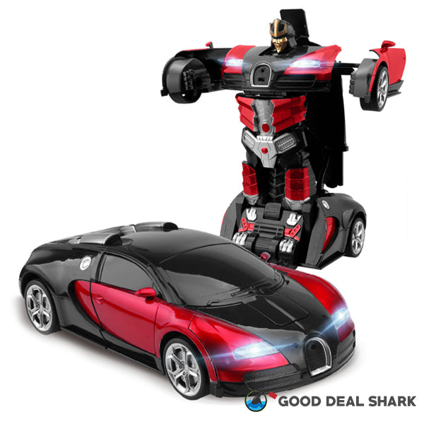 Indestructible Motion-Sensing Transformer Car