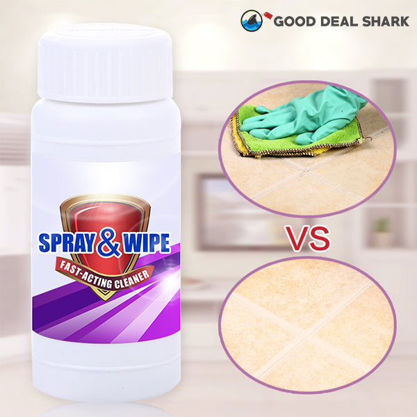 Spray & Wipe Fast-Acting Cleaner