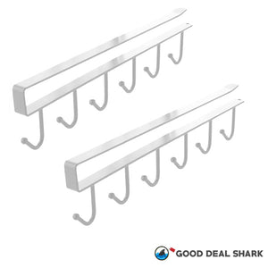 No-Drill Shelf Hanger Rack