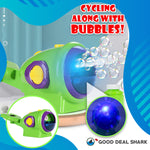 Bike Bubble Machine