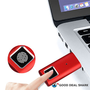 Fingerprint-Protected USB Flash Drive!