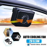 Solar-Powered Car Cooling Fan