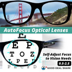 Adjustable Multi Focus Eyeglasses