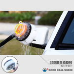 Auto-Rotating Car Washing Tool