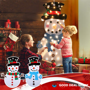 Kids Easy DIY Snowman Kit