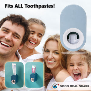 Hands-Free 1Click Toothpaste Dispenser