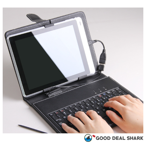 Compact Phone Flip Case With Keyboard