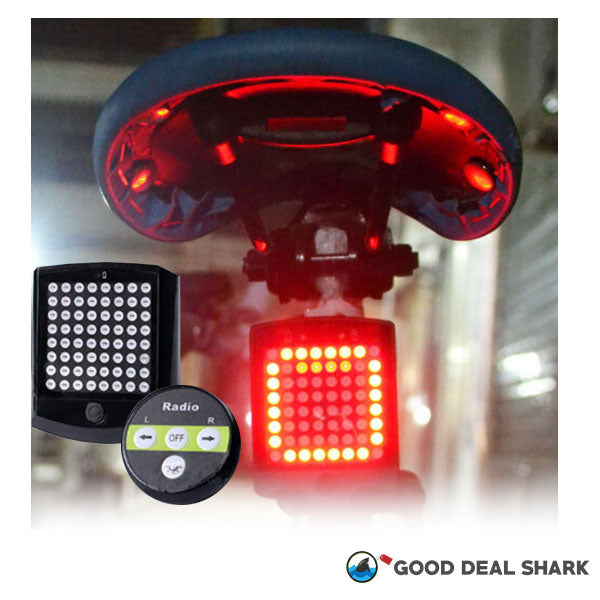 Wireless Bike LED Rear Signal Lights