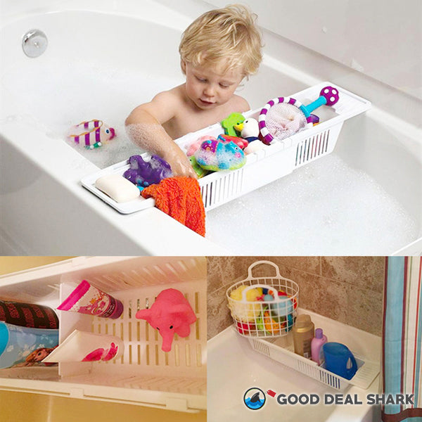 Retractable Bath Tub Tray