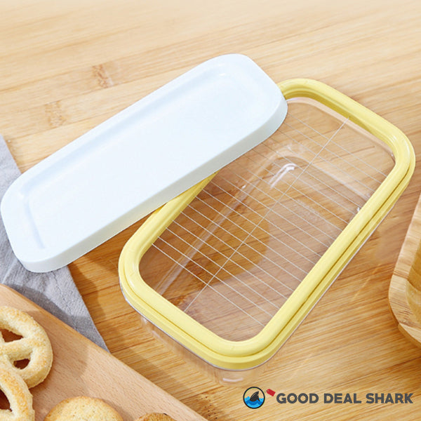 Airtight Butter Cutting Keeper