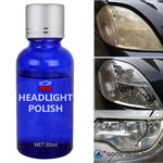 Crystal Clear Headlights Polishing Wax