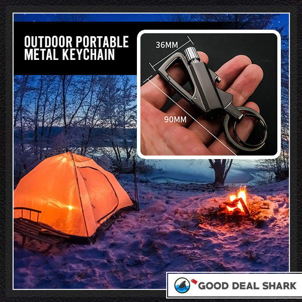 Tactical FireStarter Carabiner