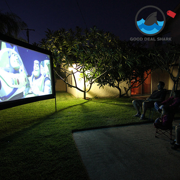 HD Wide Outdoor Movie Screen