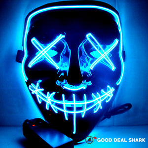 LED Halloween-Party & Rave Purge Mask