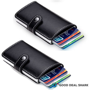 Anti-RFID Pop-Up Slider Security Wallet