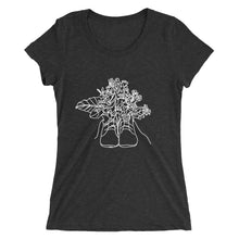 Load image into Gallery viewer, Shoes with Flowers Ladies' T-Shirt