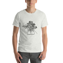 Load image into Gallery viewer, Shoes with Flowers Unisex T-Shirt
