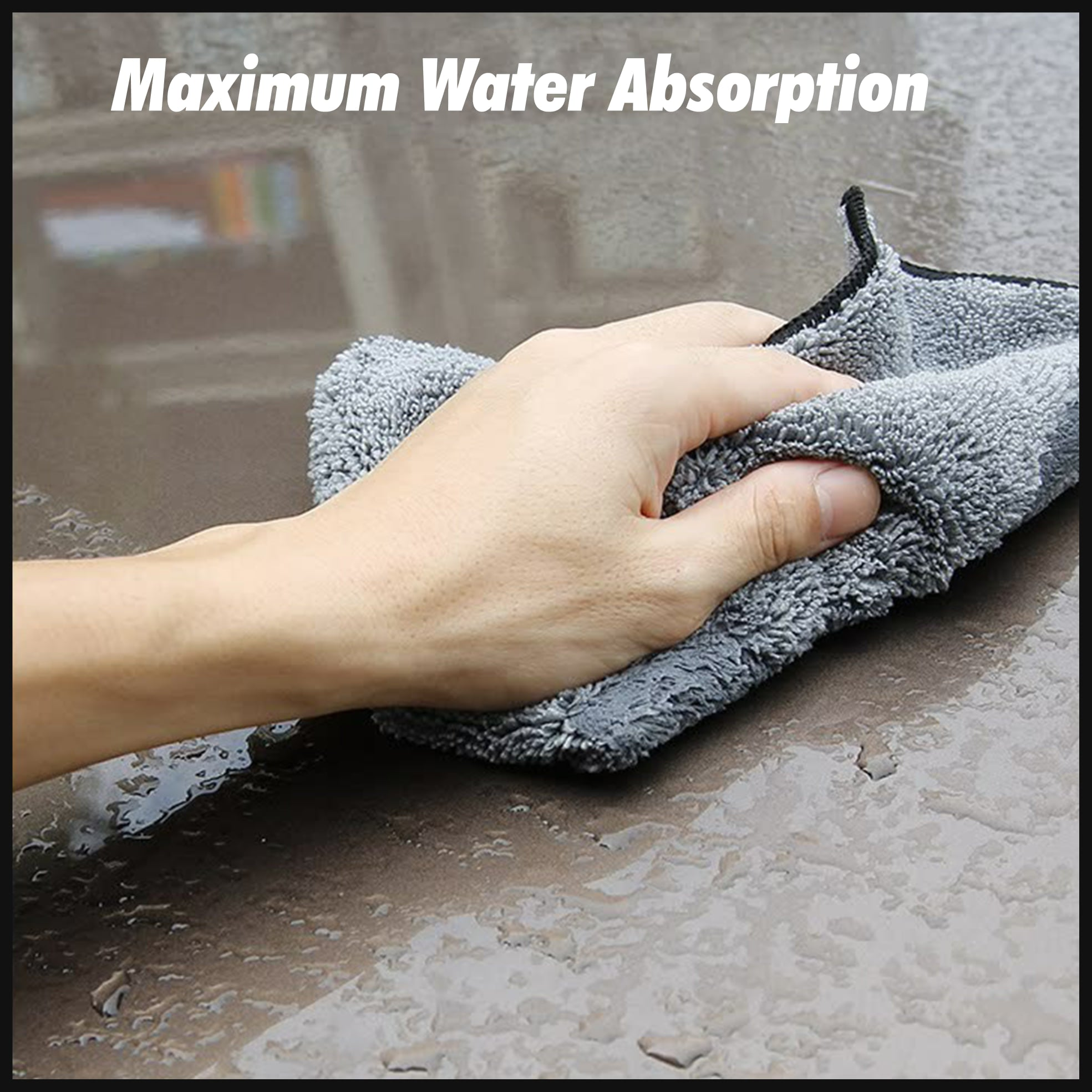 Gamma™ Microfiber Car Cleaning Cloth
