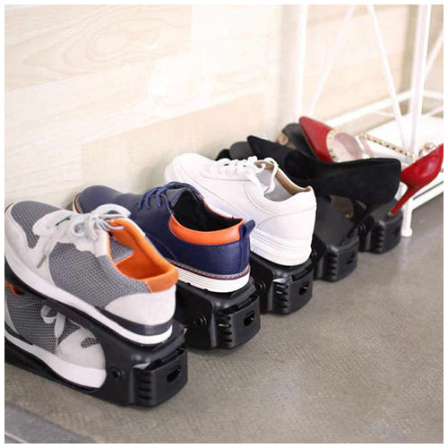Shoey™ Adjustable Footwear Storage Rack