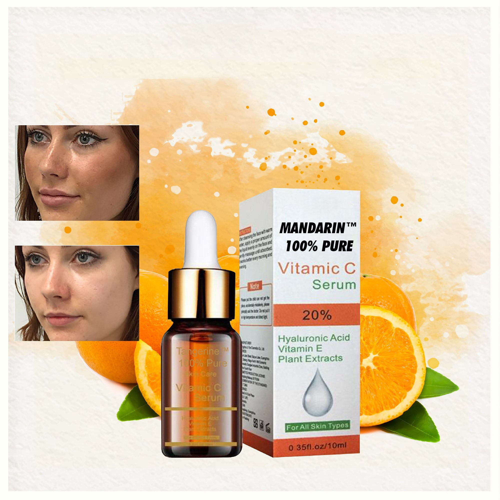 Mandarin™ 100% Pure Vitamin C Serum