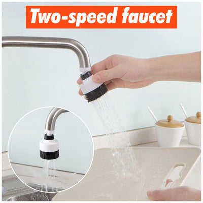 TapMaster™ Rotating Kitchen Shower Head