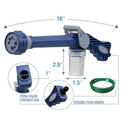 Water Jet Spray Cannon Gun