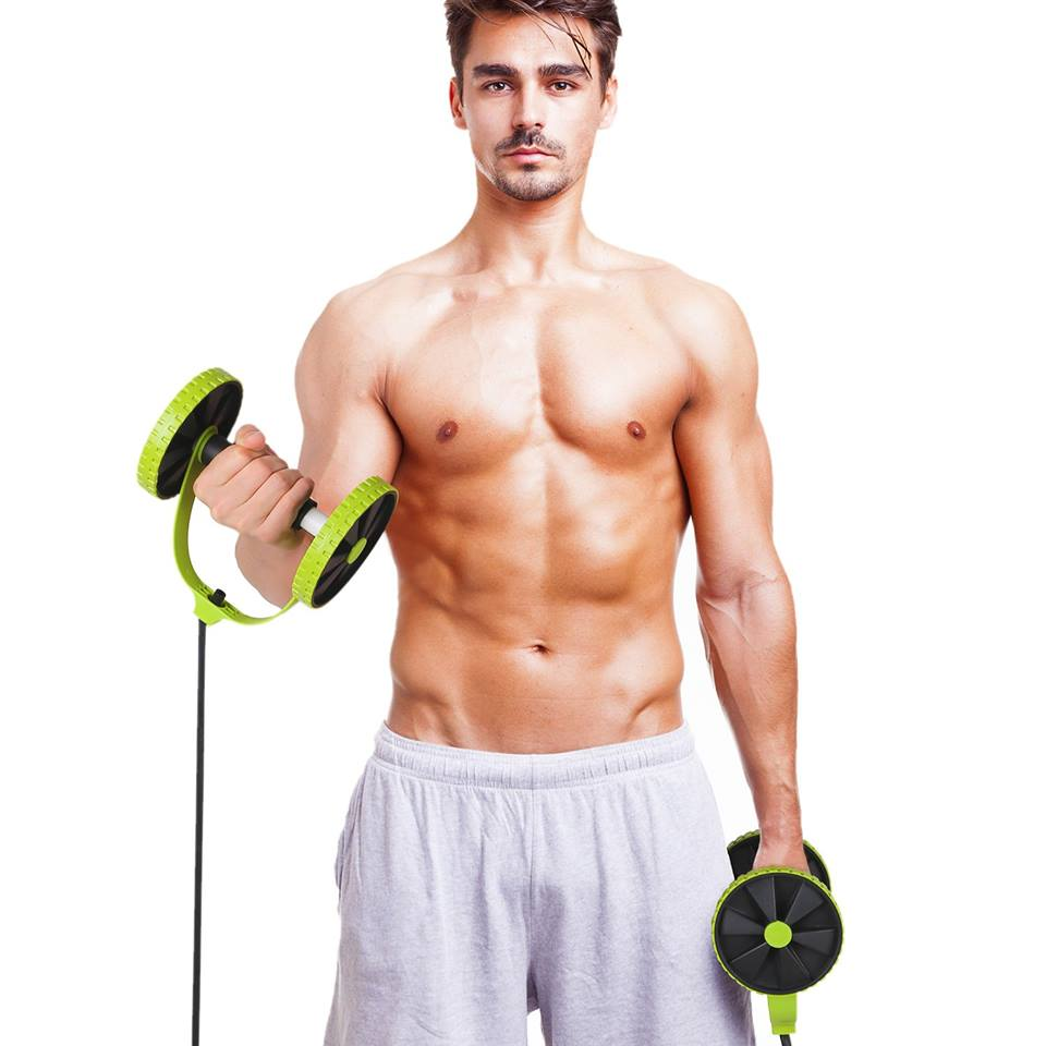 Easy Fitness Dual Wheel Ab Roller