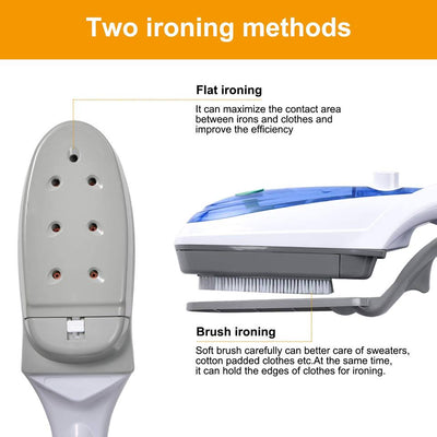 Wrinkle-Free Handheld Steam Iron