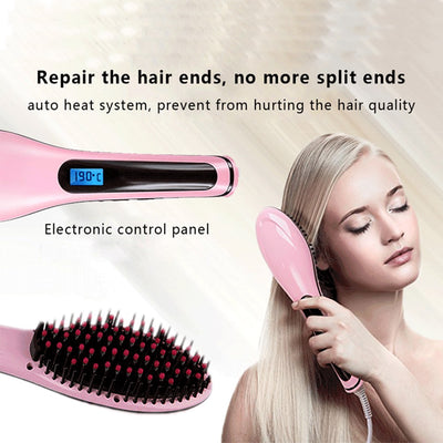 Rapunzel's Straightener Brush