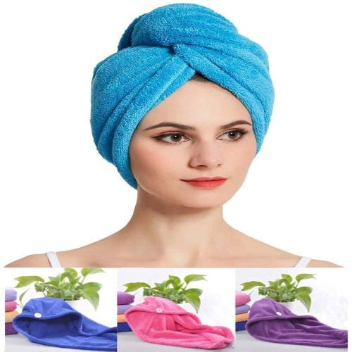 Instant Hair Dryer Towel
