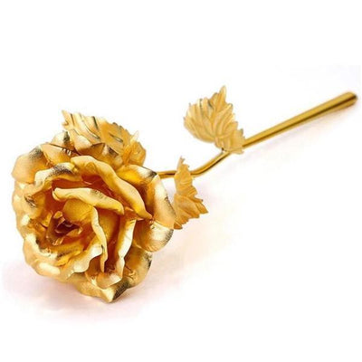 Valentines golden rose