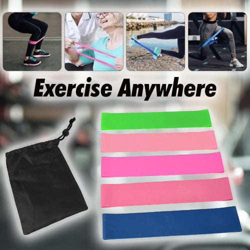 5pc Booty Workout Band Set