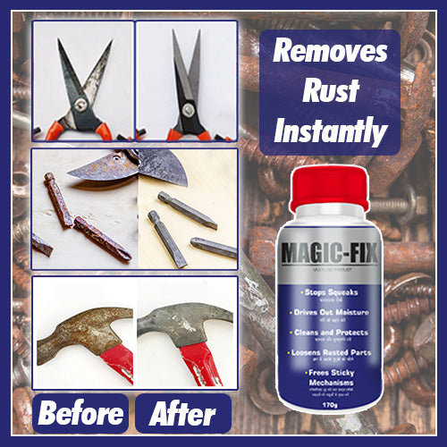 Magic Fix Rust Remover-64ml (Pack of 2)